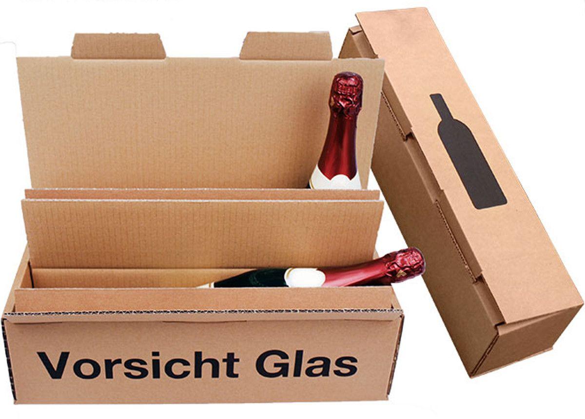 In thùng carton đựng chai rượu tại quận 4
