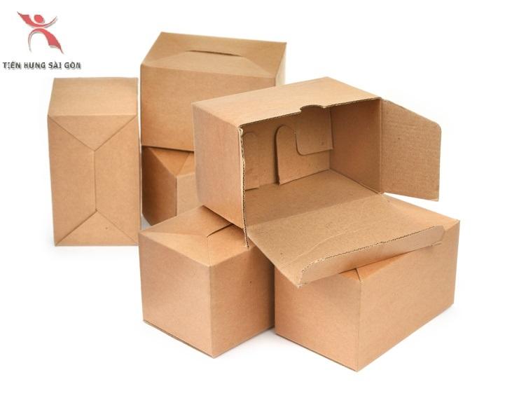In thùng carton đựng linh kiện điện tử tại quận 3