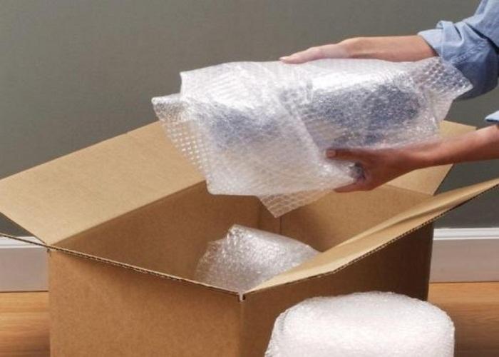 In thùng carton đựng hàng dễ vỡ tại quận 5