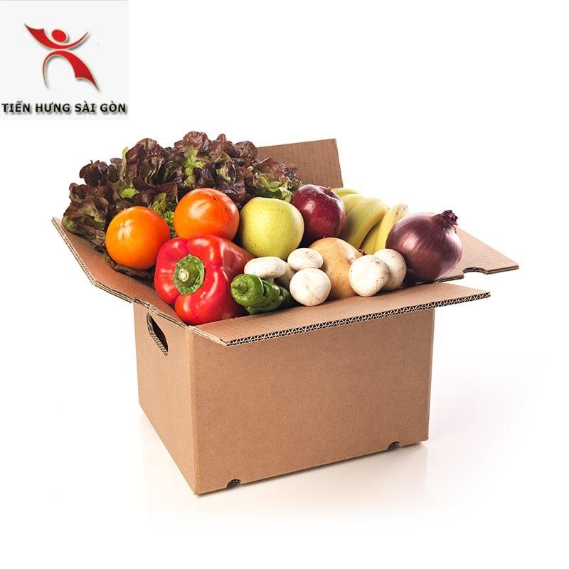 In thùng carton đựng thực phẩm tại quân 4
