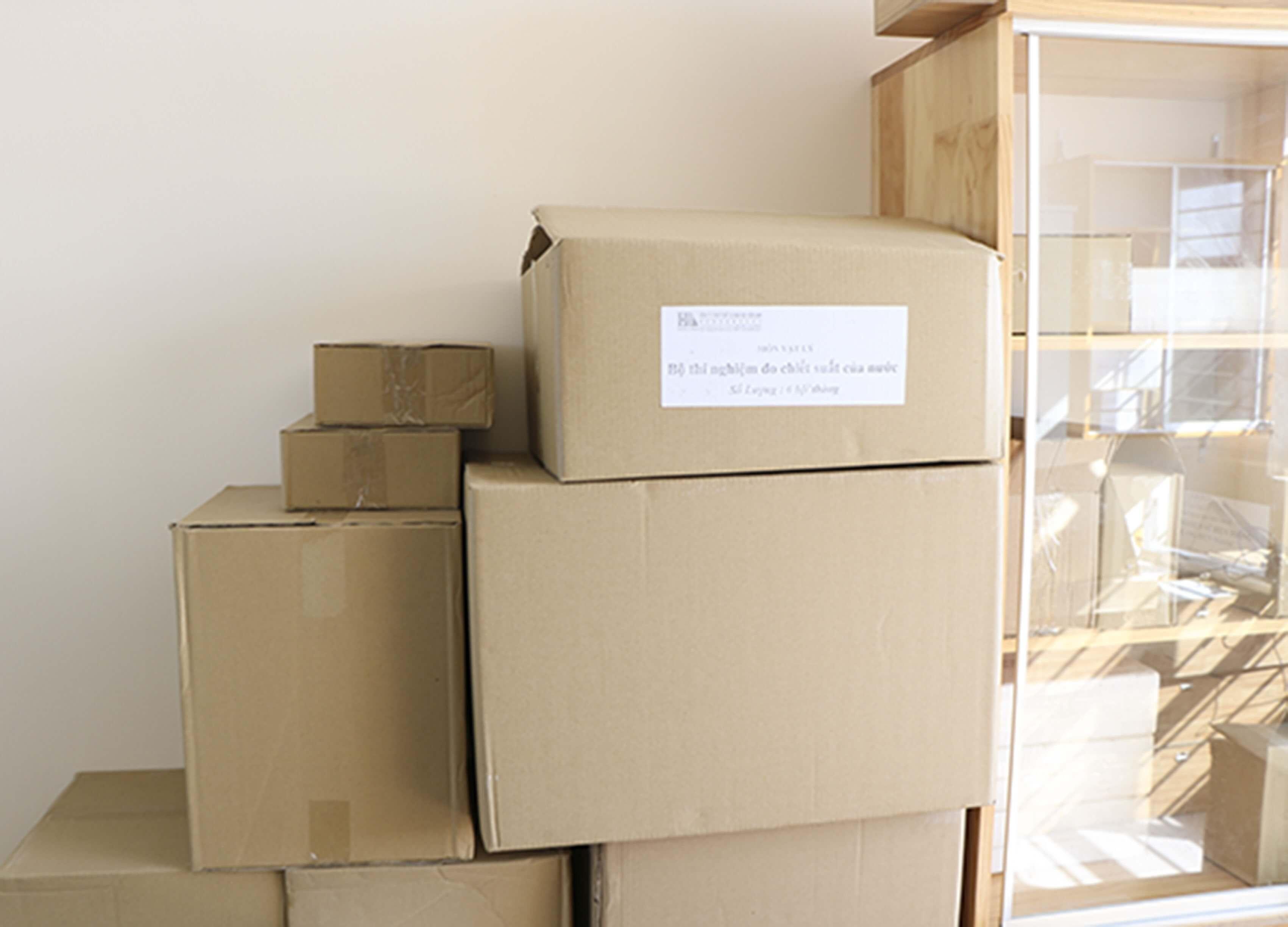 thùng carton ngành cao su