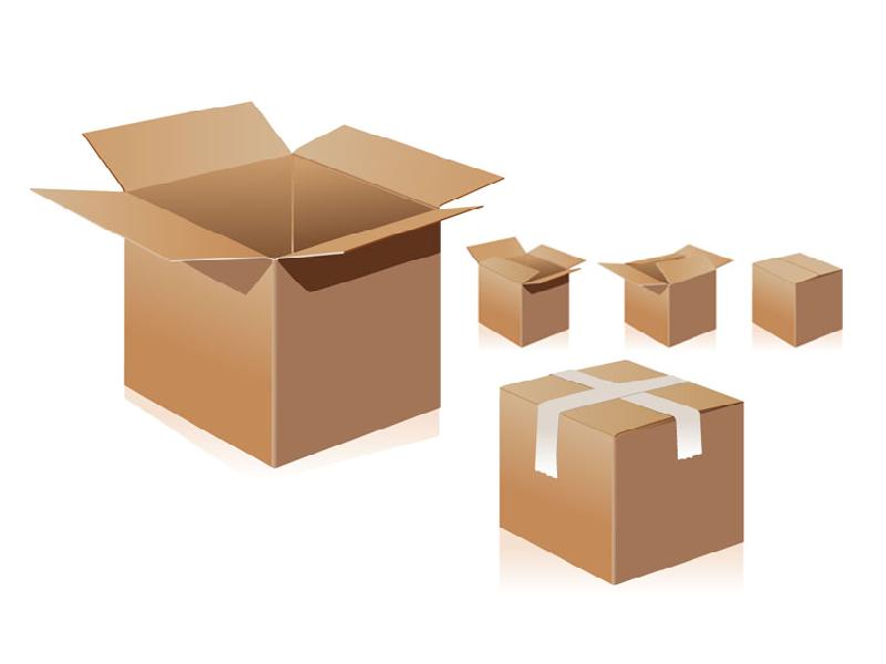 In thùng carton đựng hàng may mặc xuất khẩu tại quận 5