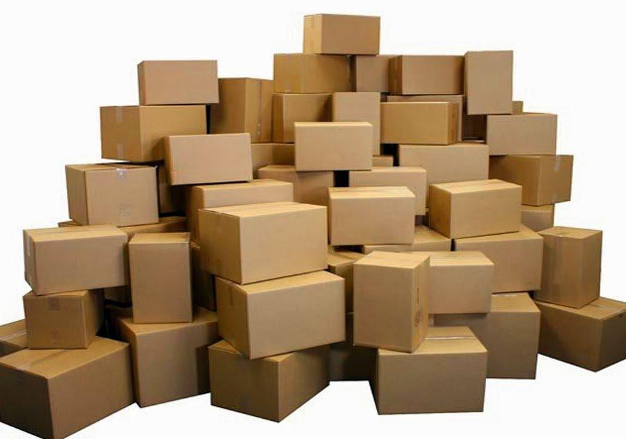 In thùng carton đựng hóa chất tại quận 4