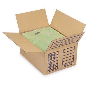 In thùng carton đựng quần áo tại quận 4